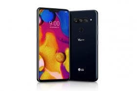 LG V40 ThinQ With Five Cameras to go on Sale in India Starting January 24 Priced at Rs 49,990