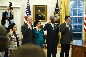 Trump Celebrates 5 New Citizens in Oval Office Ceremony as 'Dreamers' Drama Drags On