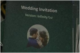 Married to Technology: Surat Couple Comes up with WhatsApp Themed Wedding Cards