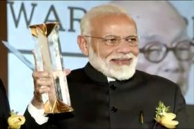 Watch: PM Modi Conferred With Seoul Peace Prize
