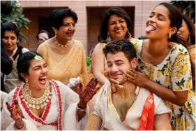 Superwoman Lilly Singh Shares Unseen Pictures of Nick Jonas and Priyanka Chopra From Their Haldi Ceremony