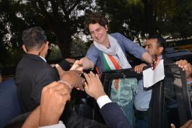Priyanka Gandhi Steals Spotlight at Her First Official Strategy Meeting Ahead of Polls
