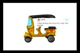 Indians 'No' Exactly How to Use the New Auto Rickshaw Emoji
