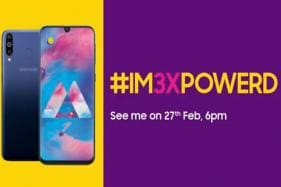 Samsung Galaxy M30 With Triple Rear Cameras to Launch on February 27, Likely to Cost Rs 14,990