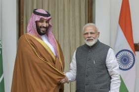 Congress Frowns Upon Modi's 'Hugplomacy' for Saudi Crown Prince MBS