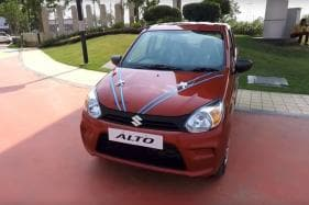 New Maruti Suzuki Alto 800 Spied, Gets Added Safety Features & Refreshed Design