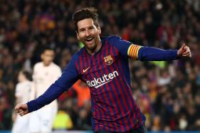 Champions League: Messi Inspires Barcelona in Manchester United Demolition to Reach Semis