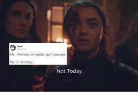 Arya Stark's Iconic 'Not Today' Scene from 'Game of Thrones' is Now a Relatable Desi Meme
