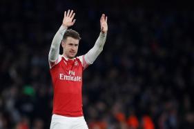 Arsenal's Ramsey Denied Swansong as Hamstring Injury Ends Season
