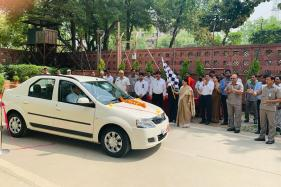 Lok Sabha Secretary-General Inaugurates Electric Charging Stations in Parliament