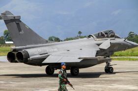 7 Dassault Rafale Fighter Jets Make Emergency Landing in Indonesia