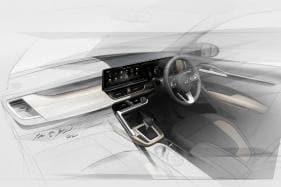 Kia SP2i SUV Interior Design Sketch Revealed Ahead of Launch in 2019