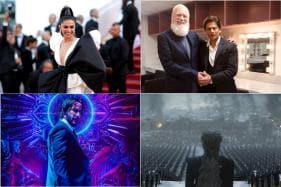 Deepika Padukone Dazzles at Cannes Red Carpet, Shah Rukh Khan Shoots with David Letterman