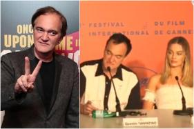 Quentin Tarantino Rejects Female Reporter's Question on Margot Robbie's 'No Dialogue' Role in Once Upon a Time in Hollywood