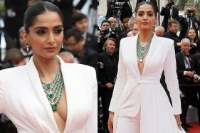 Sonam Kapoor Slays Cannes 2019 Red Carpet in White Tuxedo