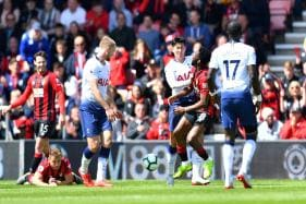 Premier League: 9-man Tottenham Lose after Conceding in Injury Time vs Bournemouth