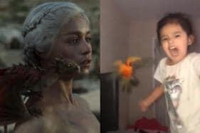 Little Daenerys Targaryen Trains Her Bird to Attack Anyone She Screams At
