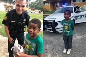 Beyond the Call of Duty: Cop Befriends Lonely 6-year-old Florida Boy After 911 Call