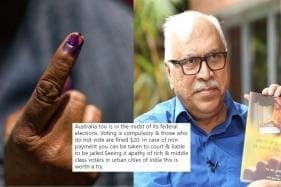 SY Quraishi Has a Fitting Reply for Amitabh Kant Who Says Non-Voters Should be Fined