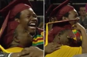 Mother Who Skipped Her Own Graduation to Attend Son's Gets an Emotional Surprise