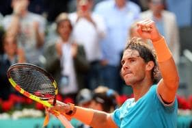 Madrid Open: Rafael Nadal Brings Teenager Felix Auger-Aliassime Back Down to Earth, David Ferrer Bows Out