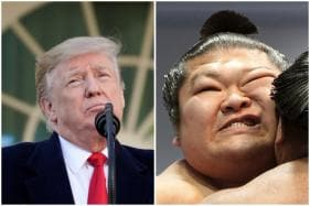 Donald Trump to Attend  Sumo Tournament in Tokyo but Will He Like it as Much as WWE?