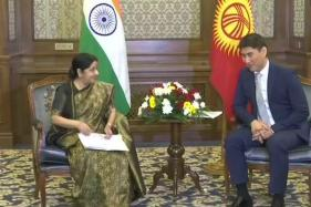 Sushma Swaraj Meets Kyrgyz Counterpart; to Attend SCO Foreign Ministers Meet