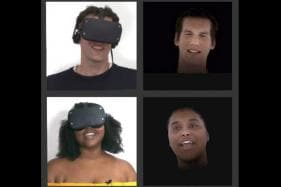 Facebook Has Built a Real-Time VR Facial Animation System