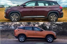 Tata Harrier vs MG Hector Spec Comparison - Dimensions, Features, Design, Video Review and More