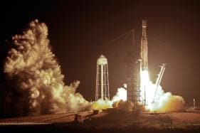 PICS: SpaceX Launches Falcon Heavy Rocket With 24 Satellites