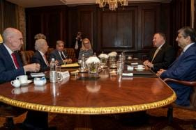 US Secretary of State Mike Pompeo Meets Leading Indian Industrialists Including Tata, Kotak And Mahindra