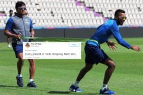 Twitter Brews Memes as Hardik Pandya's Photo from Practice Session Goes Viral