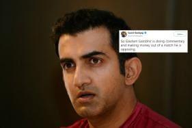 Twitter Calls Out Gautam Gambhir for 'Hypocrisy' Over India-Pakistan World Cup Match