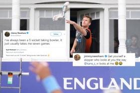 This Cricket World Cup, New Zealander Jimmy Neesham's Dry Humour is the Real Winner