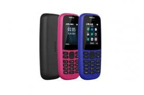 Nokia 105 Feature Phone Launched in India Priced at Rs 1,199