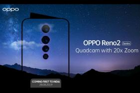 Oppo Reno 2 India Launch on August 28, Confirms Company