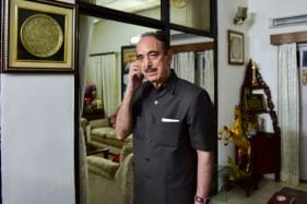 Congress Leader Ghulam Nabi Azad Stopped from Visiting J&K Again, Sent Back to Delhi from Jammu Airport