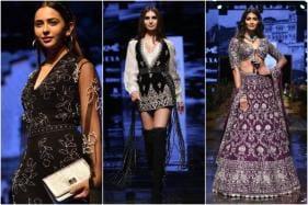Rakul Preet Singh, Tara Sutaria Sizzle on Ramp at Lakme Fashion Week 2019