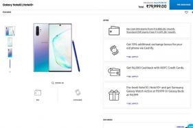 Samsung Galaxy Note 10, Note 10+ Prices Start Rs 69,990: All The Launch Offers