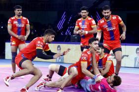 Pro Kabaddi: UP Yoddha Beat Table Toppers Jaipur Pink Panthers