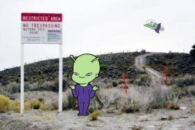 An Alien-Themed Hotel Near Area 51 is Preparing for 'Alien Hunters' Ahead of the 'Raid'