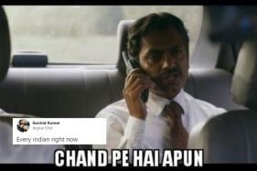 'Chand Pe Hai Apun': Ganesh Gaitonde's Line Goes Viral After Chandrayaan-2 Enters Lunar Orbit