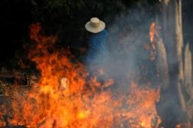Brazil's President Accuses NGOs of Setting Amazon Forest Afire as Flames Continue to Rage