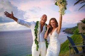 Dwayne The Rock Johnson Ties the Knot With Laura Hashian in Secret Hawaiian Wedding, See Pics