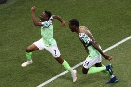 FIFA World Cup 2018: Musa's Brace Gives Nigeria Win Over Iceland And Argentina Lifeline