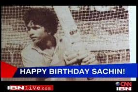 Cricket fraternity wishes Sachin on his b'day