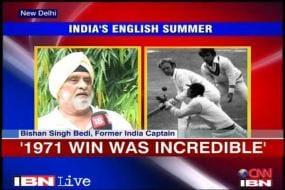 Bedi recollects memories of '71 series win