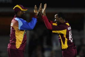 2nd T20: WI beat Eng to level series 1-1