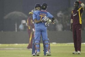 India hold nerve to beat WI by one wicket