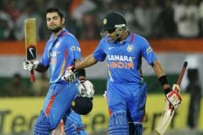 Kohli, Rohit guide India to five-wicket win